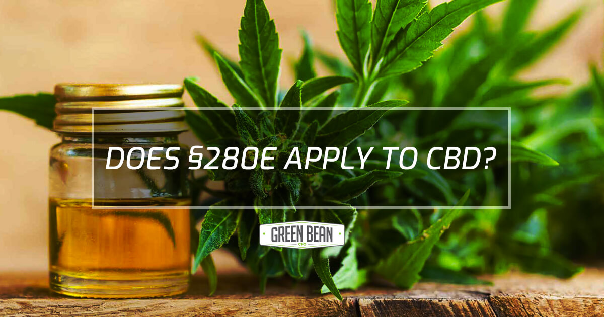 Does 280E Apply to CBD?